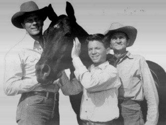 "He was thought to be the most popular horse in the country during the 1950s. He held the title role on the popular NBC Saturday morning television series ""Fury"", which was also broadcast around the world. Registered at birth with the name of Highland Dale, he also starred in the movies, ""Black Beauty"", ""Brave Stallion"", ""Gypsy Colt"", ""Wild is the Wind"", ""The Return of Wildfire"", and ""Giant"" with Elizabeth Taylor. He won several Patsy Awards."