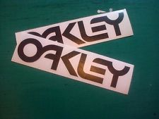 Oakley 2 180mm motogp Motocross BMX Rally Surf Decal Stickers