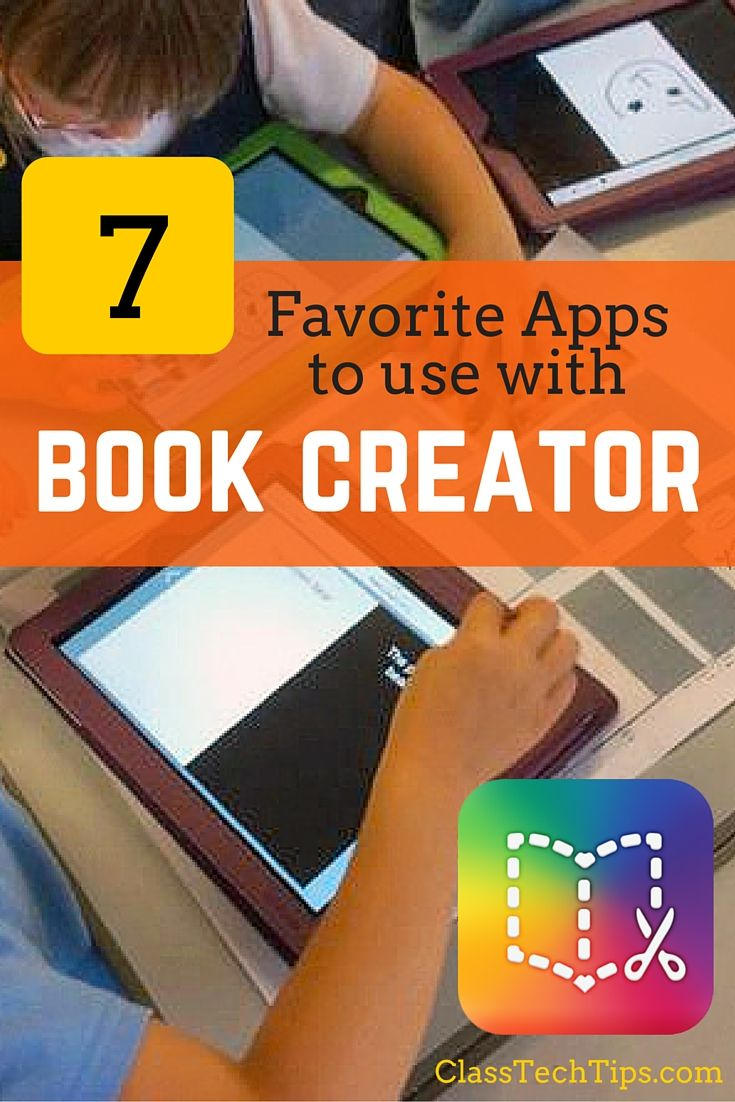 Check out this list of my favorites! One great aspect of Book Creator is how users can easily integrate media they've created in other apps.
