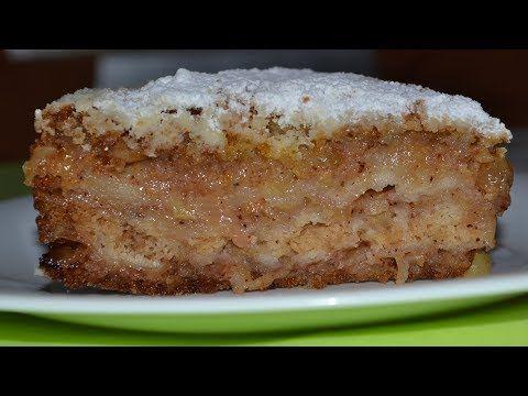 (124) Насыпной яблочный пирог ТРИ СТАКАНА. Очень ПРОСТОЙ И ВКУСНЫЙ. Пирог, который всегда получается. - YouTube