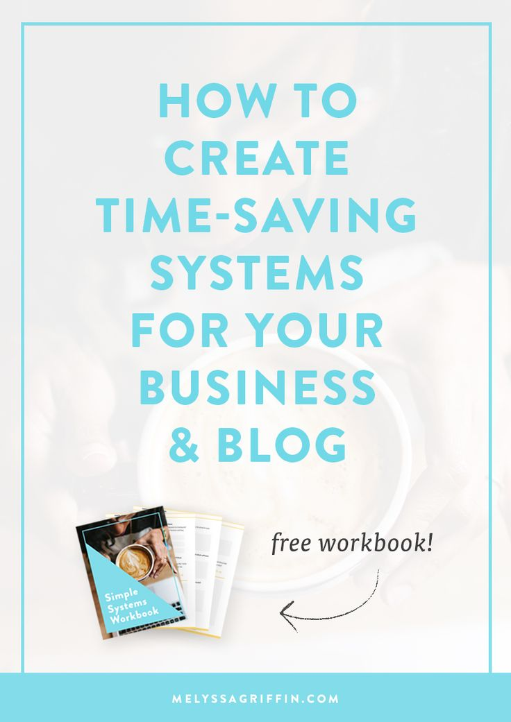 Having trouble getting everything finished on your to do list? Do you want to grow your business and blog, but think there aren't enough hours in the day? Well, if you're an entrepreneur or blogger, you just need better SYSTEMS to stay productive! Click through to read how to get your productive life going! There's even a free workbook download. ;)