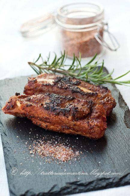 Classic BBQ rub ovvero mix di spezie per barbeque e costine di maiale - Trattoria da Martina - cucina tradizionale, regionale ed etnica