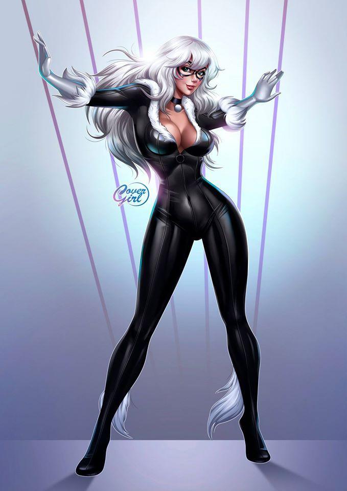 black cat marvel - 679×974