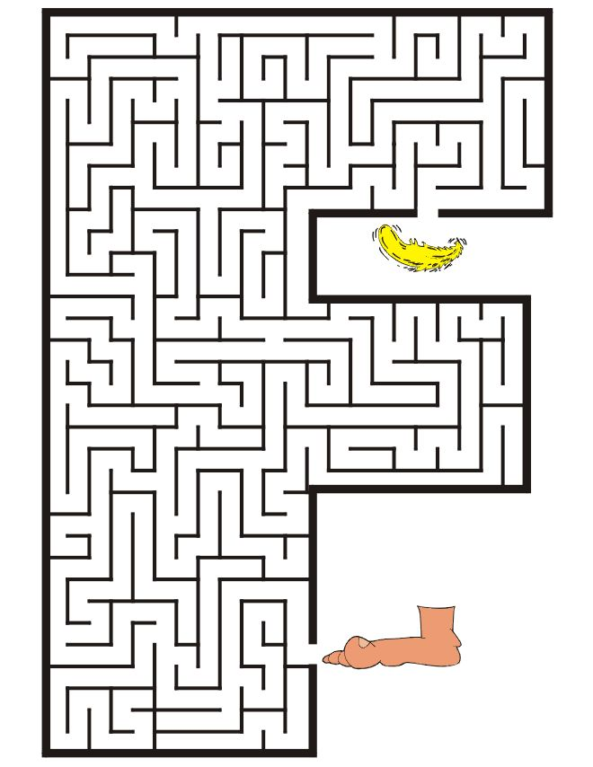 Magnificent Find The Key Printable Maze Free Fun Worksheets For Kids ...
