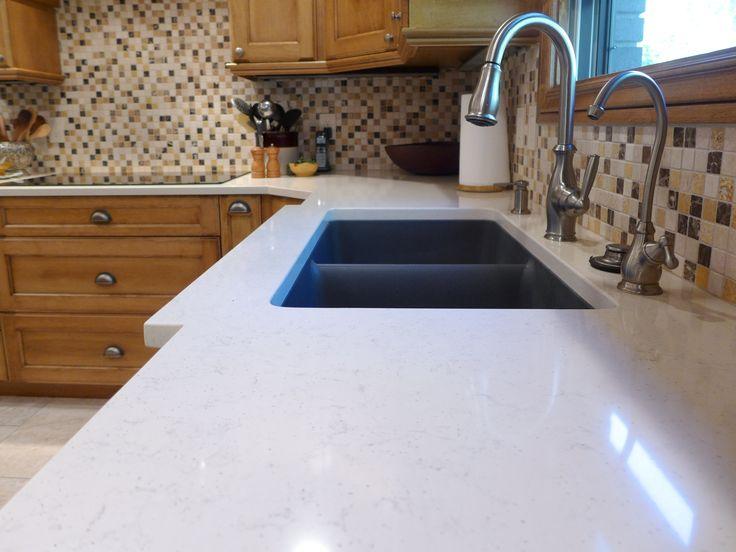 Voritum Silestone Quartz Countertop With An Elkay Granite Composite Sink My Kitchen Update