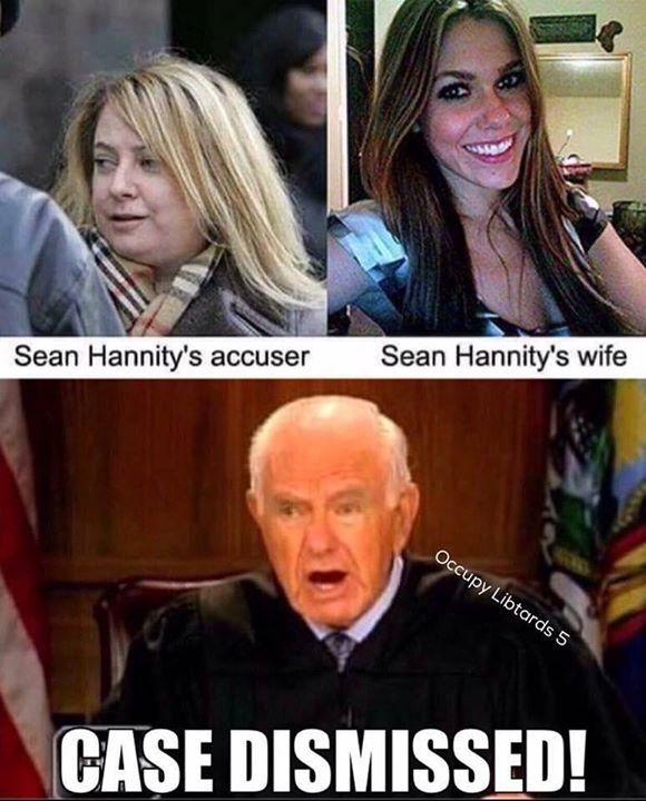 Sean Hannity's Accuser vs. Sean Hannity's Wife