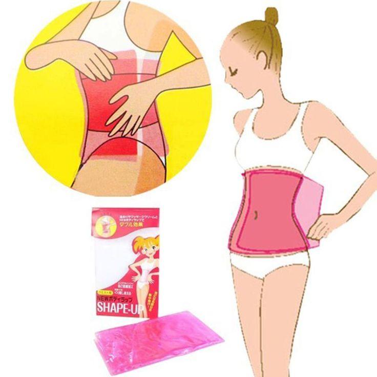 セルライト脂肪バーナーサウナ痩身SHAPE-UPウエストボディプラスチックベルトラップ化粧美容ツールホット販売