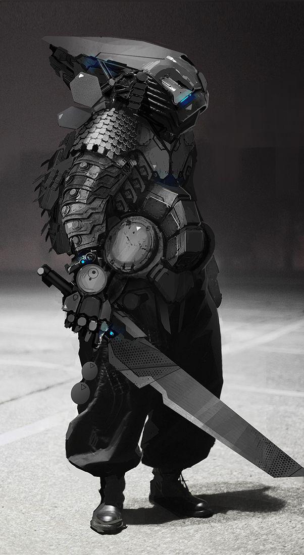 Samurai by ~fightpunch on deviantART