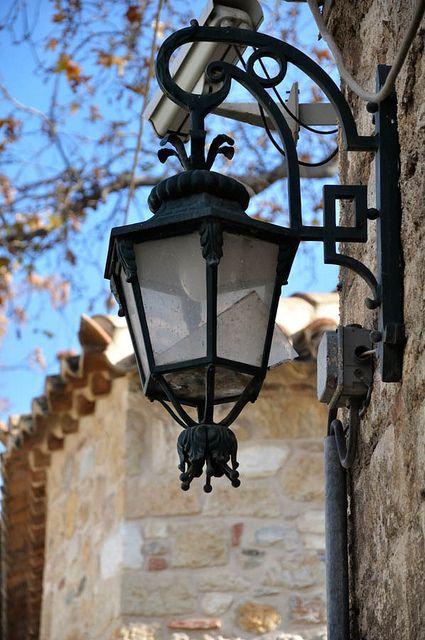 Some street lamp at Plaka, Athens