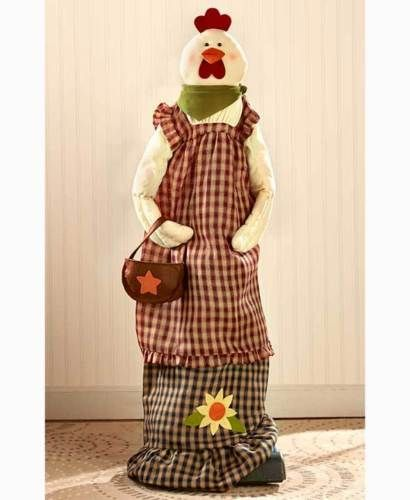 Rooster Vacuum Cleaner Cover With Purse & Flower Checkered Rustic Home Decor in Home & Garden, Household Supplies & Cleaning, Vacuum Parts & Accessories | eBay