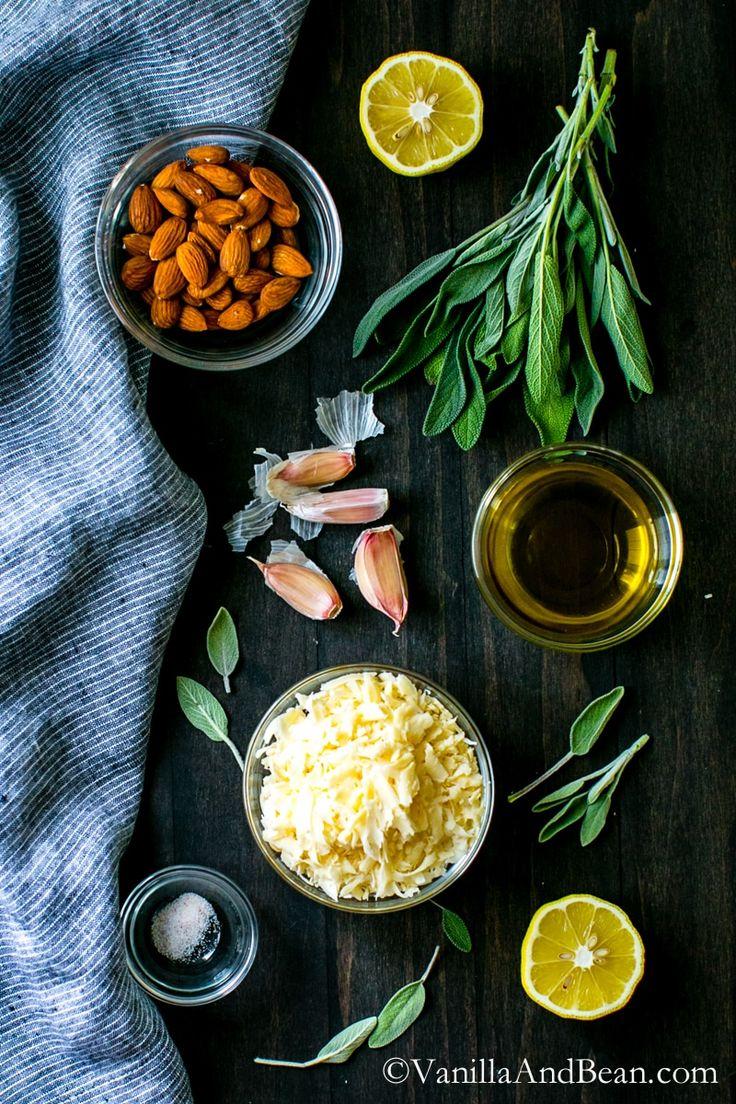 Almond-Sage Pesto
