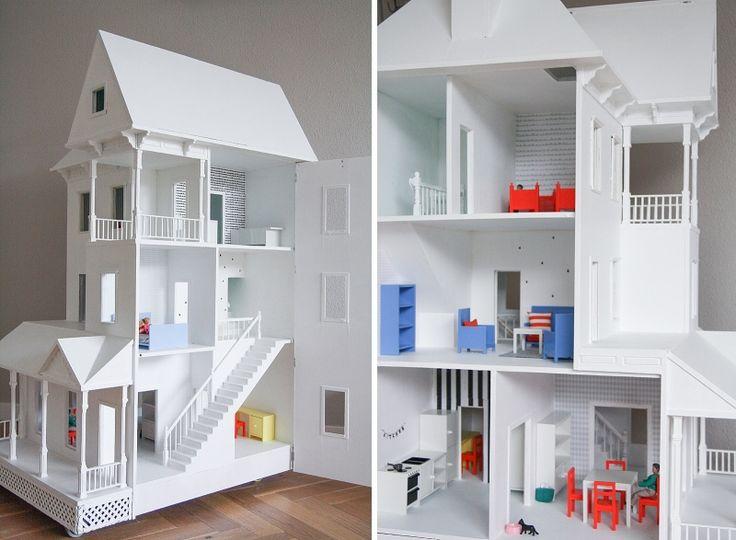 83 best dollhouse images on pinterest fairy homes doll for Ikea casa bambole