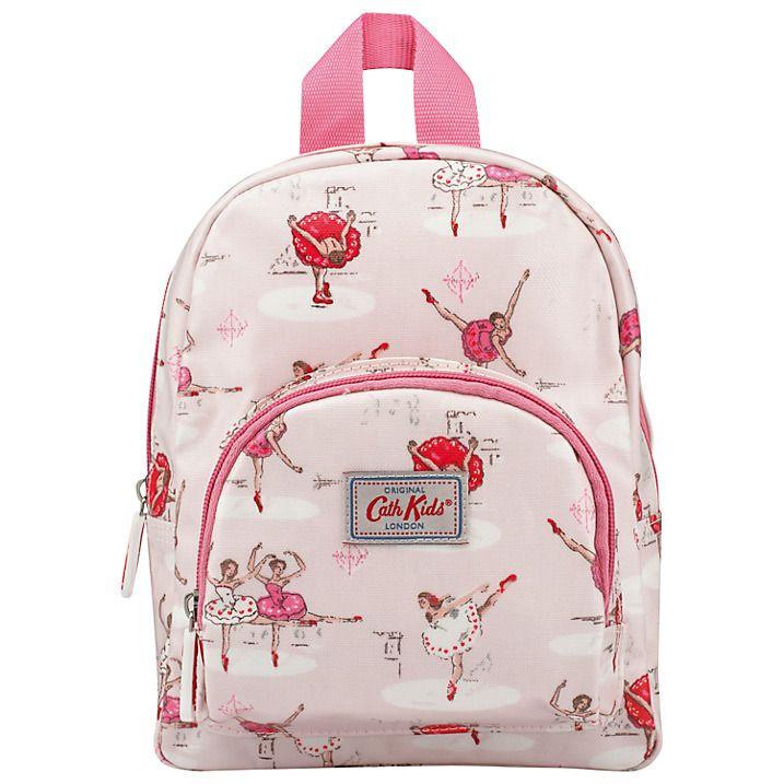 Buy Cath Kidston Children's Mini Ballerina Rucksack, Pink Online at johnlewis.com