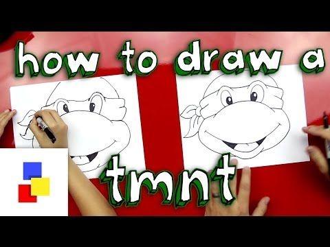 How to draw a Teenage Mutant Ninja Turtle