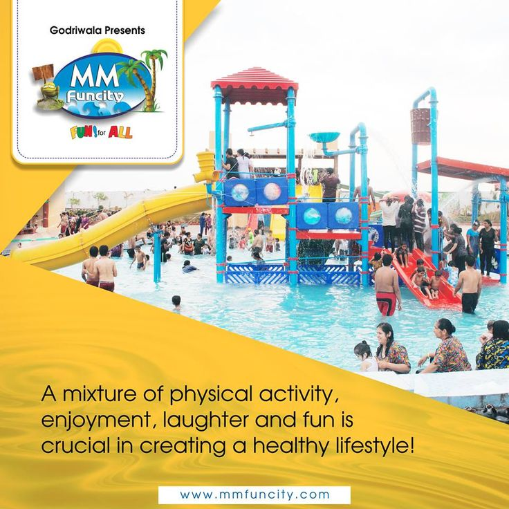 Life is more fun when you are living, working and playing. #WaterPark #Health #Enjoyment #WaterFun #Playing #PhysicalActivity #Laughter #MMFuncity #Raipur