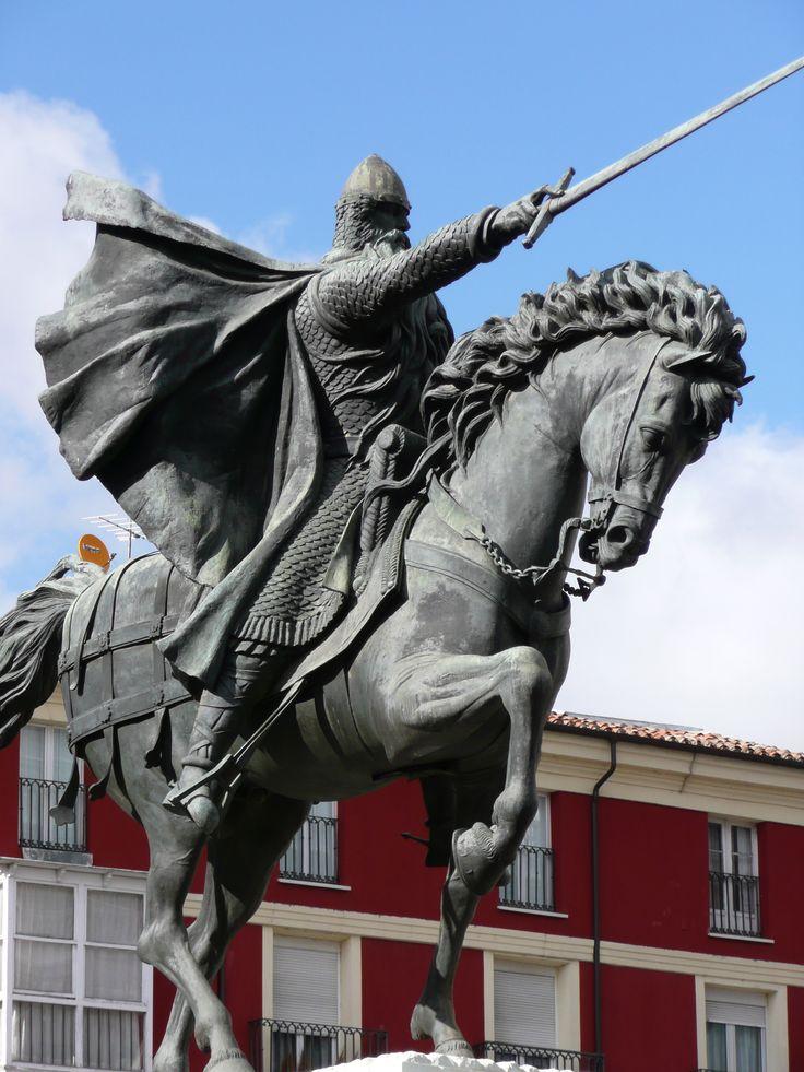 Estatua del Cid Campeador, Burgos.  vinyaivo.wordpress.com