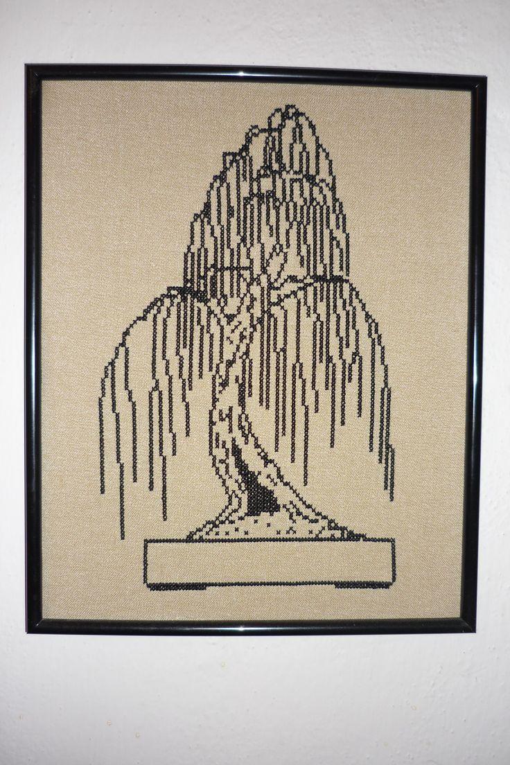 Vyšívaná bonsai