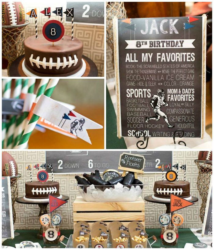 Super Bowl Party Decorations Uk: The 25+ Best Football Theme Birthday Ideas On Pinterest