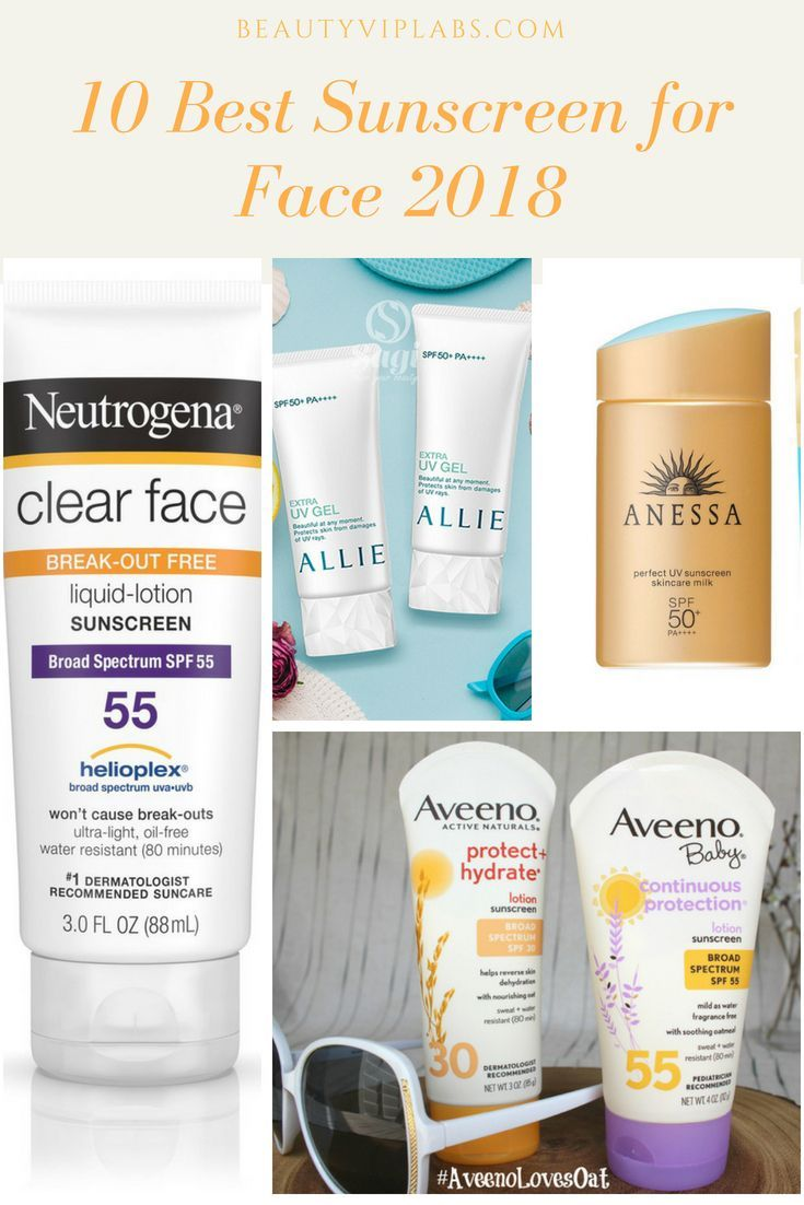 10 Best Sunscreen For Face 2018 Product Reviews Get An Effective Sunscreen And Enj Good Sunscreen For Face Homemade Face Moisturizer Moisturizer For Dry Skin