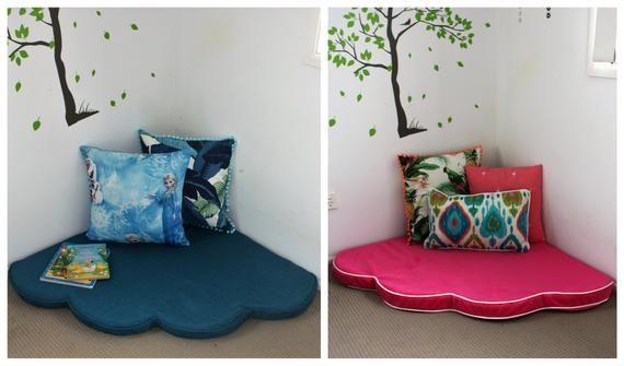 Bargain Deal Flower Floor Cushion Kids, Custom Made Cushion Covers For Outdoor Furniture
