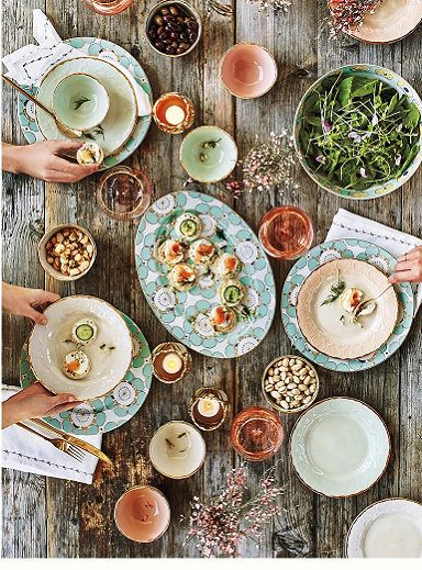 kitchen table base faucets at menards the inspired home: anthropologie's spring 2016 home decor ...