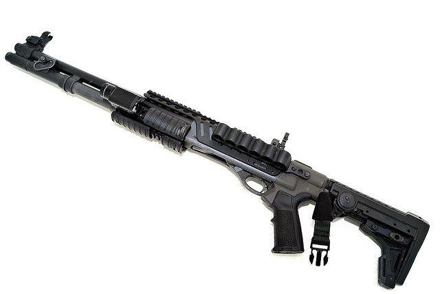 Remington 870 combat build, Magpul M93 Experimental by impulselabs, via Flickr