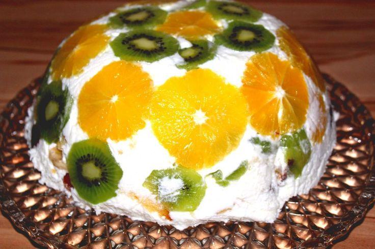Торт желе Летний с фруктами | Рецепт | Идеи для блюд ...
