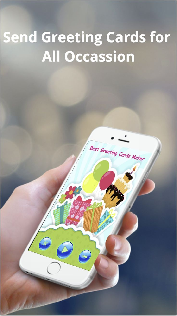 All In One Iphone App To Create And Send Greeting Cards For Any