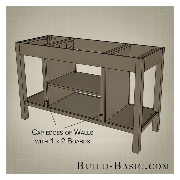 Diy Open Kitchen Island By Build Basic Step 10 For The Home Pinterest Open Kitchens And