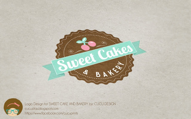 Logo design for SWEET CAKES AND BAKERY A classic Bakery with a light line of products
