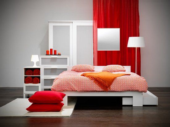 Lovin The Color Scheme And The Storage Under The Bed Ikea Com