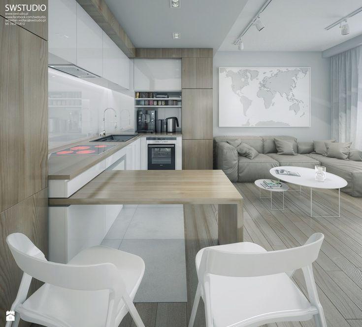 Kuchnia styl Minimalistyczny - zdjęcie od SWSTUDIO - Kuchnia - Styl Minimalistyczny - SWSTUDIO