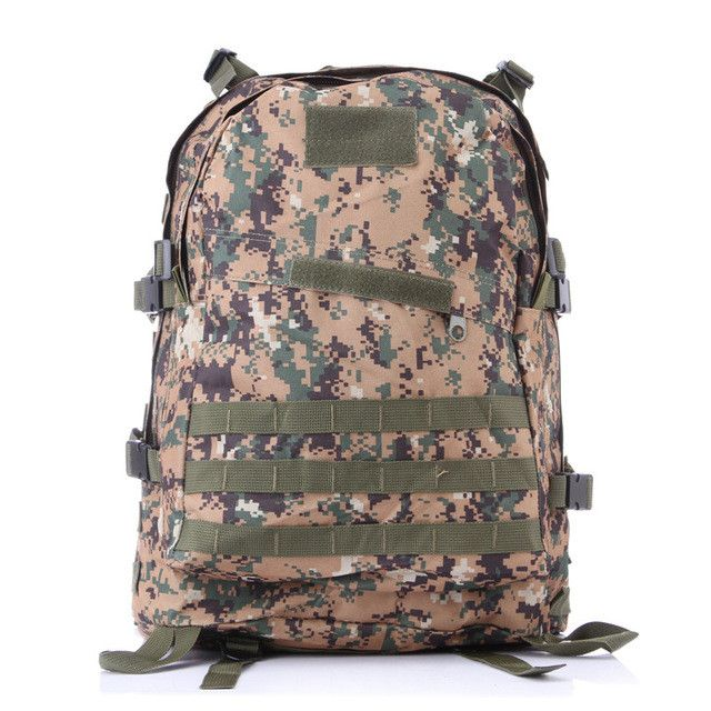 YUETOR Outdoor Camping Hiking Hunting Camouflage Army Bag Mochila Militar Tactica Military Rucksack Molle Tactical Backpack
