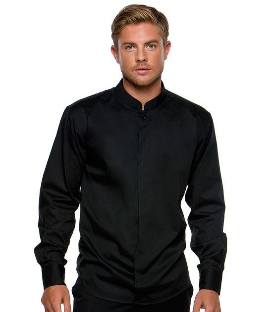 Mandarin Collar Shirt Clothes Pinterest