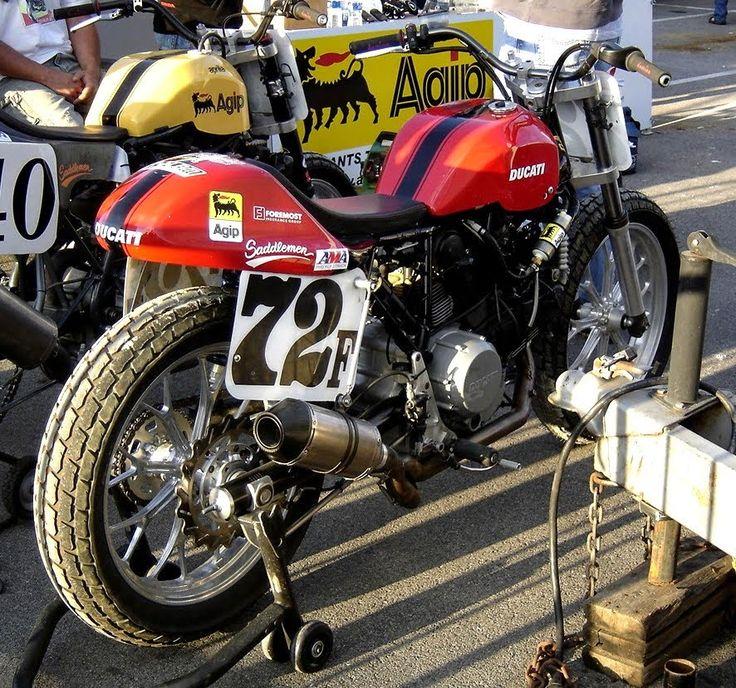 Ducati 1100 Flat-Tracker based on Ducati Hypermotard 1100EVO.