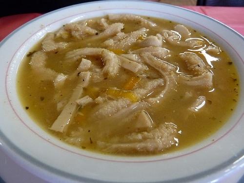 Flaczki or Tripe Soup