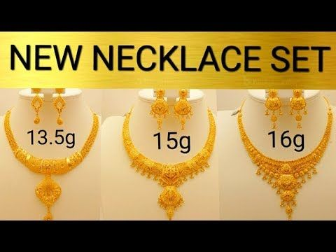 a215768425 Designer Gold Necklace Collections   Latest Jewellery Designs - YouTube