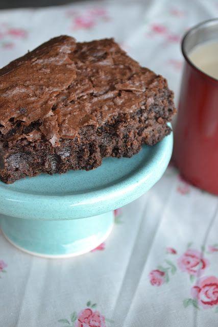 brownies con nesquik