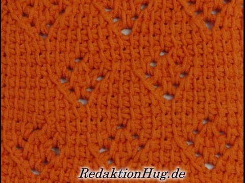 Tunisian Crochet - Beacon (IN GERMAN - If you are familiar with Tunisian Crochet you can watch this video to learn this stitch... The video is very good... Deb)