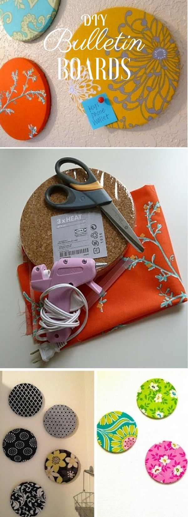 Check out the tutorial: #DIY Bulletin Boards @istandarddesign