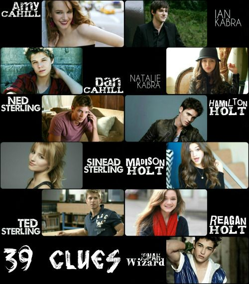 the 39 clues amy and dan - Google Search<<< Not sure about the cast, I just liked the setup of the picture.