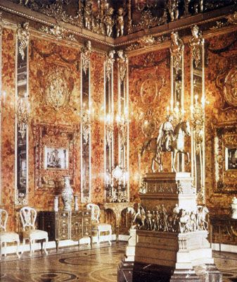 The Amber Room Catherine's Palace