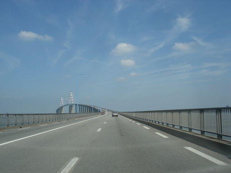Pont de St Nazaire, Loire-Atlantique, France