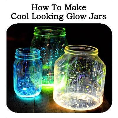 How To Make Cool Looking Glow Jars Tutorial
