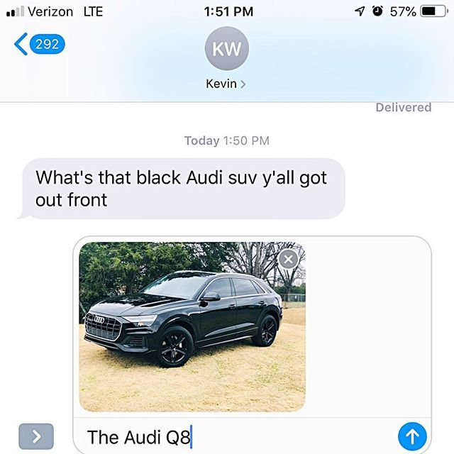 When The Audi Sells Itself 2019 Audi Q8 Titanium Black Optic