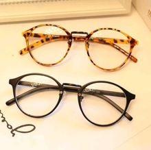 Olhos redondos Retro óculos de armação homens mulheres computador óculos de miopia vintage frame óculos simples oculos de grau femininos A0154(China (Mainland))