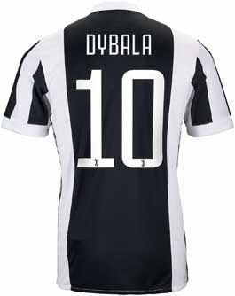 0d53cb1b3 adidas Paulo Dybala Juventus Home Jersey 2017-18 | SoccerMaster.com ...