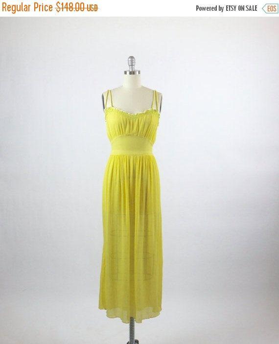 VENTE Vintage des années 1930 robe robe des par 4birdsvintage