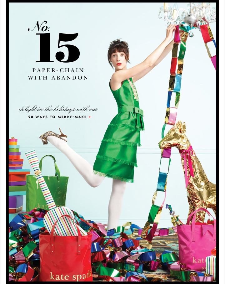 kate spade email holiday | Email Design | Pinterest | Email design ...