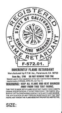 10u0027 x 10u0027 heavy duty silver fire retardant tarp tarp fire resistent